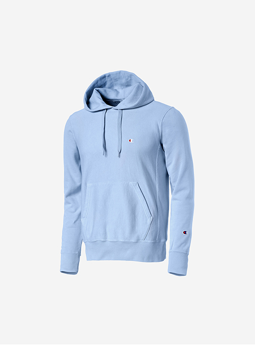 PULLOVER HOODED sky blue (C3-P102)