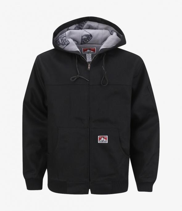 Hooded Jacket, Front Zipper (344)
