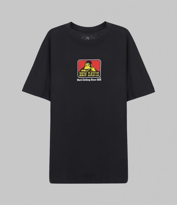 CLASSIC LOGO TEE - BLACK (9065)