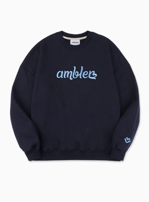 Love Ambler Sweatshirt (AMM813_NAVY)