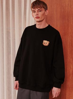 Ambler Big Bear Sweatshirt (AMM805_BLACK)