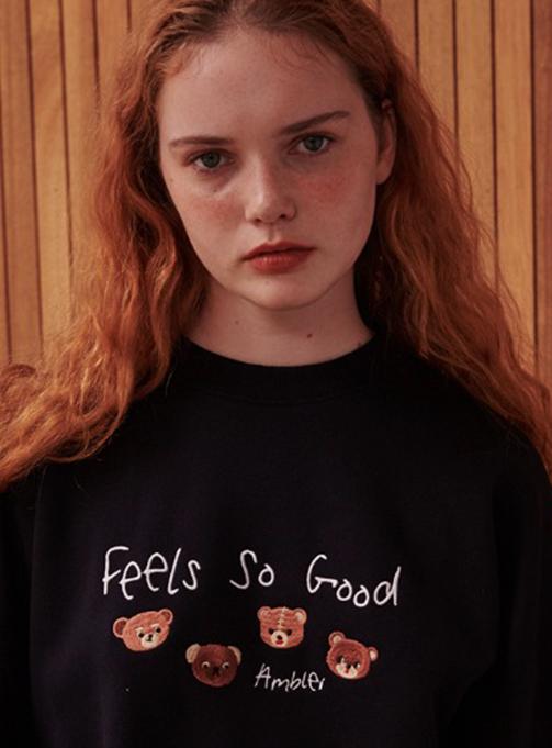 Ambler fells so good Sweatshirt (AMM806_NAVY)