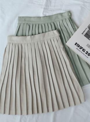 Lovely Pleats Mini Skirt
