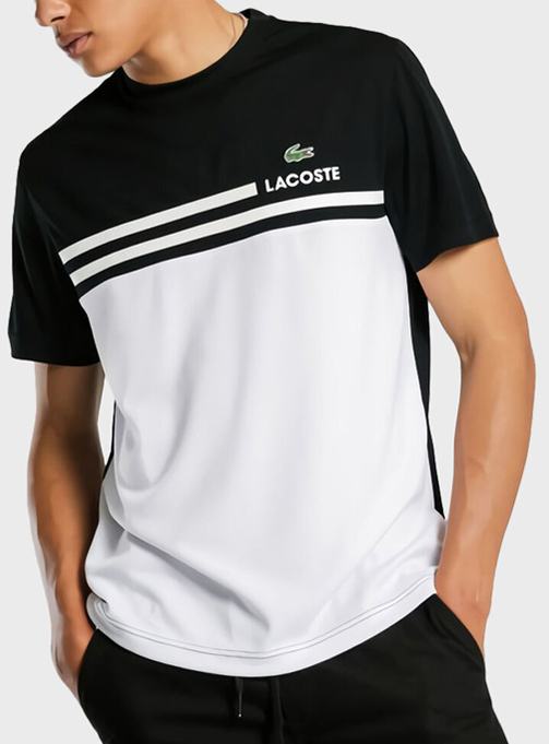 Round sport T-shirt - Bblack (LA152AC-0MS)