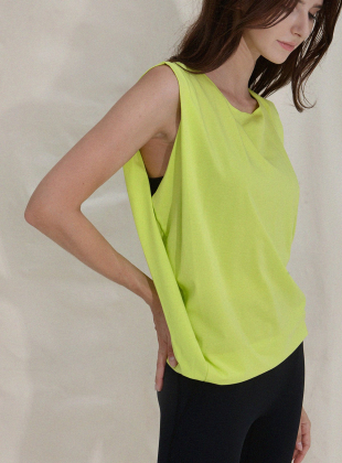 Bingo Double Sleeveless DEVI-TS0029-Neon Green