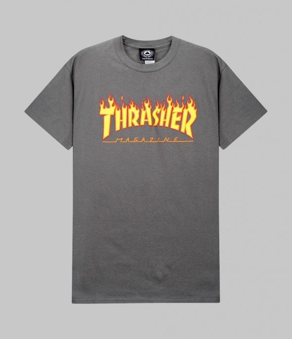 FLAME Short Sleeve (CHARCOAL GRAY)(311019)