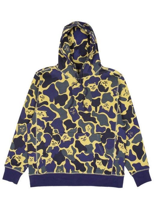 Nerm Camo pullover Sweater Hoodie