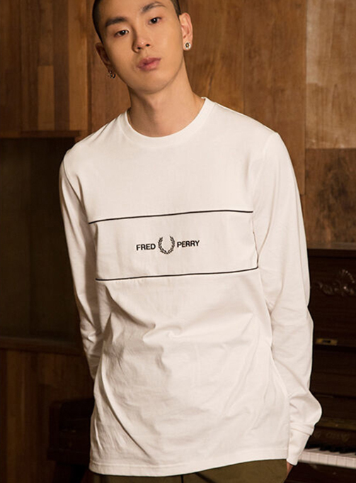 Embroidered Panel T-Shirt (129) AFPM2039593-129