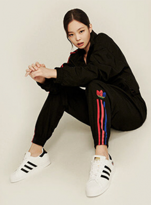 Jennie, BLACKPINK - 3D Track Pants (GD2231)