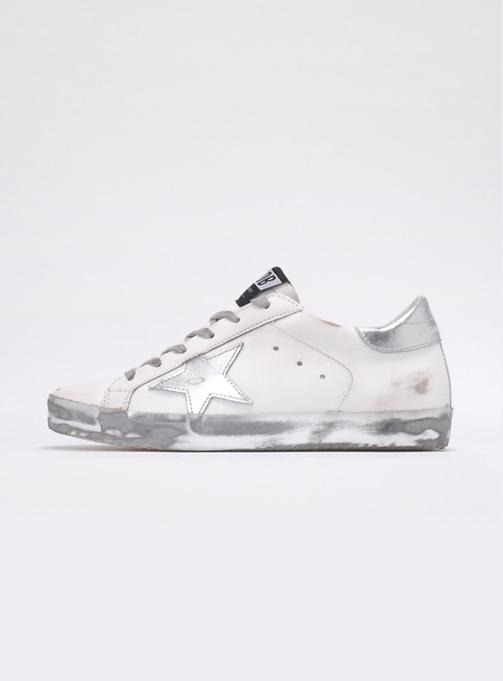 (W) Superstar Leather Silver (GWF00101 F000314 80185)