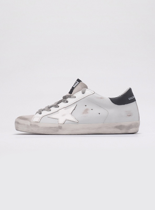 (W) Superstar Light Gray Leather white star (GWF00101 F000101 60248)