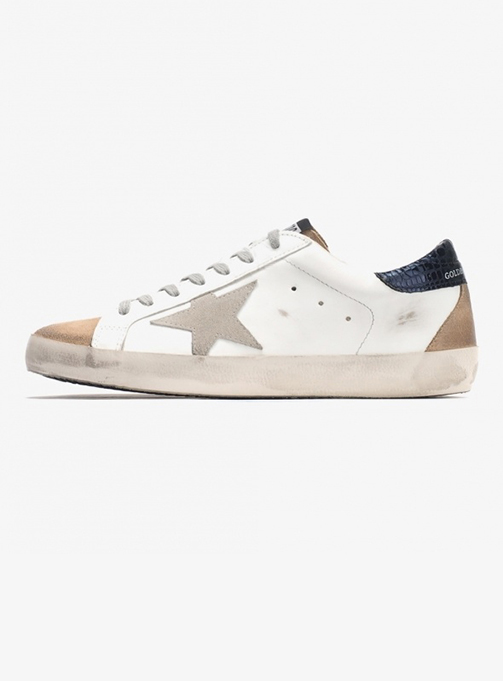 (M) Superstar White Leather Nude Suede Ice (G36MS590 T86)