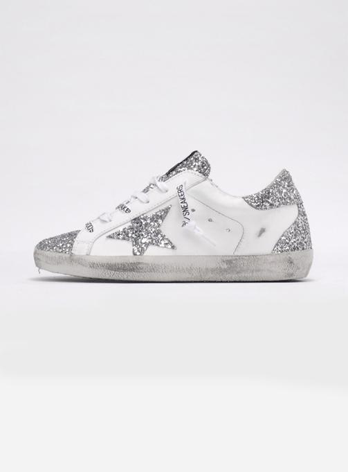 (W) Superstar Silver Glitter (GWF00102 F000144 80185)