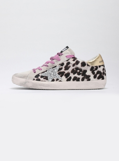 (W) Superstar Suede Toe Leopart (GWF00101 F000142 80215)